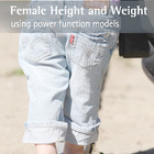 Make It Real: Female Height and Weight - Using Power Funct