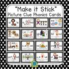 """Make It Stick"" Picture Clues Phonics Story Cards (52 sounds)"