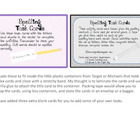 Make Spelling Fun Task Cards