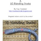 Make Your Own 3D Blending Snake FREE