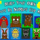 Make Your Own Color By Number Clip Art Collection 2-Commer