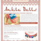 Make Your Own Indian Style Ankle Bells or Ghungroo