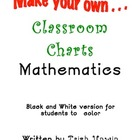 Make Your Own Mathematics Charts Black and White version