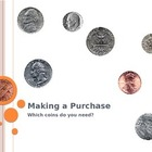 Make a Purchase with Coins PowerPoint