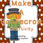 Make a Scarecrow Craftivity
