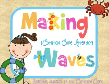 Makin' (Common Core) Waves Literacy Games
