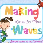 Makin&#039; (Common Core) Waves Math Games for the end of the year