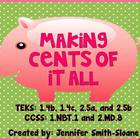Making Cents of It All - 4 Centers for Identifying Money