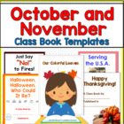 Making Class Books: October and November
