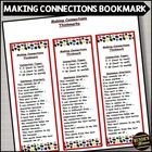 Making Connections - Reading Comprehension Strategy Bookmark