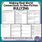 Making Connections to Non-Fiction Text: Bullying