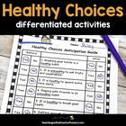 Making Healthy Choices: Differentiated Activities