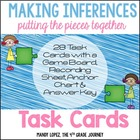 Making Inferences {28 Task Cards, Recording Sheet, Poster