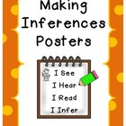 Making Inferences FREEBIE Posters