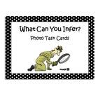 Making Inferences Photo Task Cards