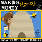 Making Money Honey: Math Task Cards (Common Core Aligned)