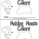 Making Mouse Colors Emergent Reader- Kindergarten
