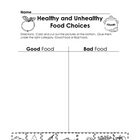 Making Nutritious Food Choices: Good Food vs. Bad Food