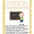 Making Predictions Reading Activity
