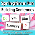 Building Sentences: All About Spring