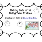 Making Sets of 10 with Friendly Ghosts (Math Common Core K.OA.4)