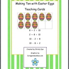 Making Ten Easter Egg Teaching Cards
