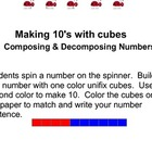 Making Ten With Cubes