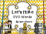 Making Words- CVC Builder Space Theme