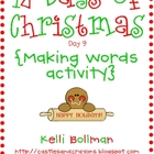 Making Words - Gingerbread Edition {FREE}