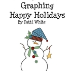 Making Words & Graphing Happy Holidays Freebie