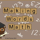Making Words Math