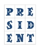 Making Words -- President's Day