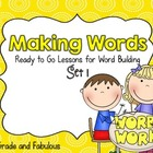 Making Words-The Treasures Edition for First Grade ( Units 1-3)