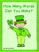 Making Words on St. Patrick's Day