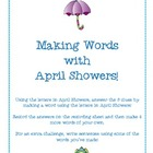 Making Words with April Showers