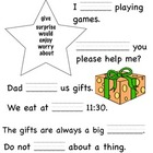 Mama's Birthday Present Comprehension Test and Vocabulary
