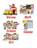 Manage My Classroom! Schedule Icons/Cards