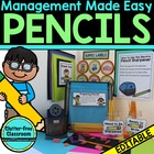 Managing Pencils in the Classroom {Tips & Printables}