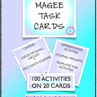 Maniac Magee Activity Cards