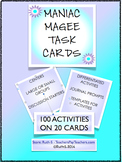 Maniac Magee Task Cards