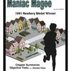 Maniac Magee     Chapter Summaries/Objective Tests/Keys