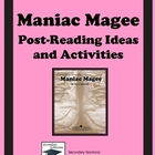 Maniac Magee Post-Reading Ideas and Activities