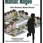 Maniac Magee      Prereading/Vocabulary/Short Answer Questions