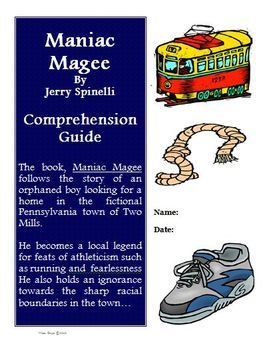 Maniac Magee Reading Activities Super Bundle