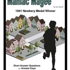 Maniac Magee Short Answer Questions