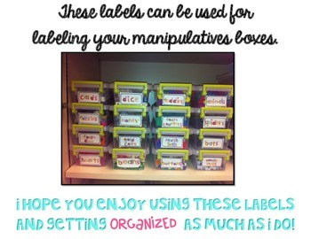 Manipulative Labels