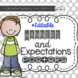 Manners and Expectations Posters