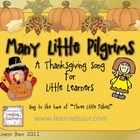Many Little Pilgrims Thanksgiving Song