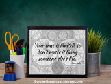 Quote About Minding Your Own Business Steve Jobs Printable