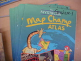 Map Champ Atlases, Set of 7
